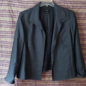 Linen suit jacket (separates), blue, 20W, Talbots